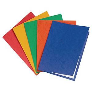 Omslagsmappe Exacompta, A4, assorterte farger, pakke à 25 stk.