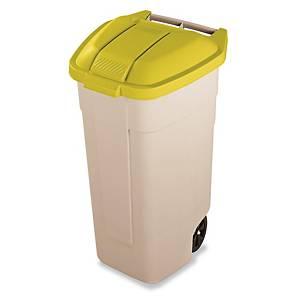 Tapa para contenedor de residuos Rubbermaid - amarilla