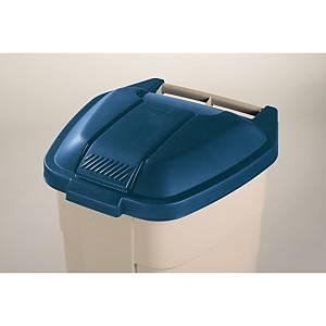Tapa para contenedor de residuos Rubbermaid - azul