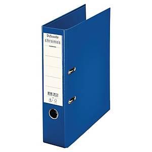 Classeur à levier Esselte Chromos Plus - dos 8 cm - bleu