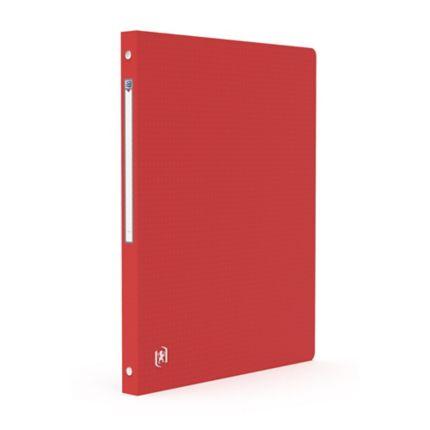 classeur couverture souple elba 4 anneaux 15mm rouge 100202346. Black Bedroom Furniture Sets. Home Design Ideas