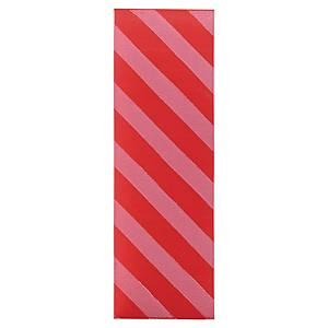 Bracelet pour billets de 10 euros - 24 mm - rouge - sachet de 500