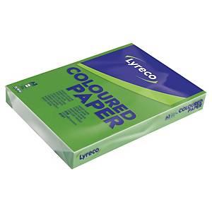 Paquete 500 hojas de papel Lyreco - A3 - 80 g/m2 - verde intenso
