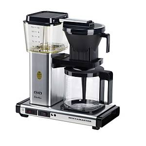 MOCCAMASTER KBG 741 COFFEE MAC SILVER