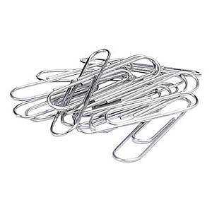 Jumbo Paper Clip Oval 2 inch - Box of 100