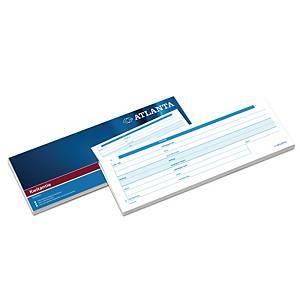 Jalema Atlanta company formulars receipt notepad 100 sheets 5436/010