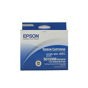 Epson C13S015508 Original Printer Ribbon - Black