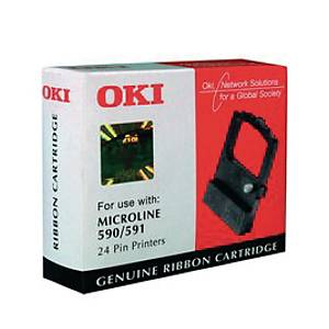 OKI ML590/591 Original Printer Ribbon Black