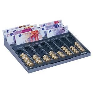 Durable telplank voor euromunten en -biljetten