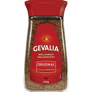 Instant kaffe Gevalia, glas a 100 g