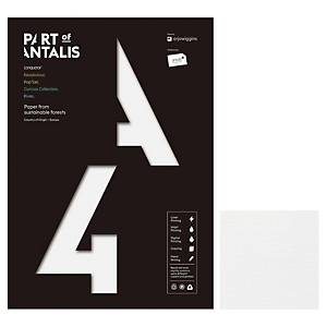 Conqueror A4 Paper Brilliant White Laid - Pack of 50 sheets