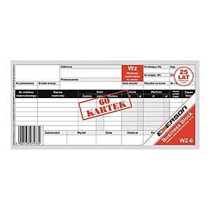 Druk EMERSON WZ - Wydanie materiału 1/3 A4, 60 kartek