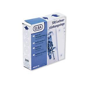 BX500 ELBA 7103 REINFORCE RINGS TRANSP