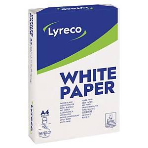 RM500 LYRECO PAPER 90G A4 WH