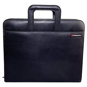 Monolith 2879 conference folder with 4 -ring mechanism black