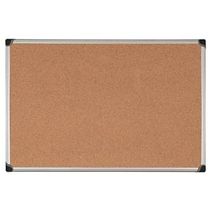 CORK NOTICEBOARD ALU FRAMED 45X60