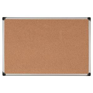 Aluminium Framed Cork Notice Board 600mm X 900mm