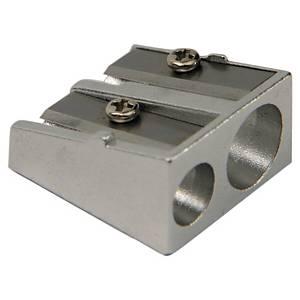 Anspitzer Lyreco, Metall, für Stifte mit 8 + 11mm Durchmesser