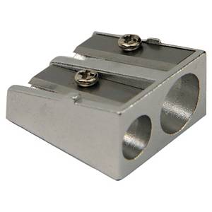 Pencil Sharpener - Metal With Double Hole