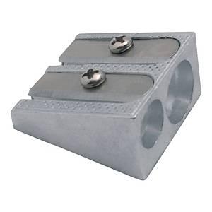 Temperówka metalowa, podwójna
