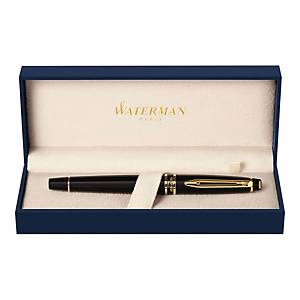 Waterman Expert Fountain Pen Black Gt