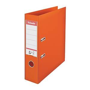 Esselte No.1 Power emelőkaros iratrendező, gerincszélesség 7,5 cm, narancssárga