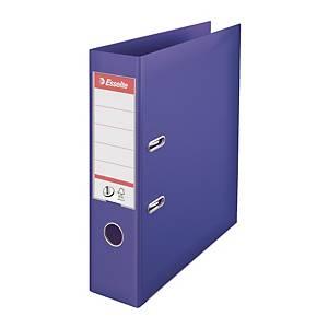 Pákový pořadač Esselte No. 1 Power, šířka hřbetu 7,5 cm, fialový