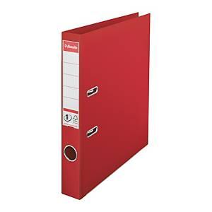 Pákový pořadač Esselte No. 1 Power, šířka hřbetu 5 cm, červený