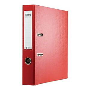 Segregator z mechanizmem LYRECO Budget A4 50 mm czerwony