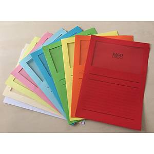 Elco 420515 Ordo window folder assorted colours - box of 100