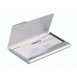 DURABLE 2415.23 BUSINESS CARD BOX METAL