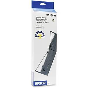 EPSON S015091 RIBBON BLK