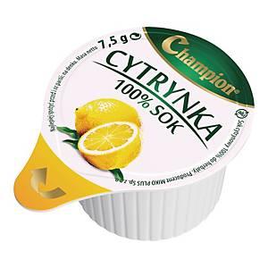 Zagęszczony sok cytrynowy CHAMPION, 10 kubeczków x 7,5 g