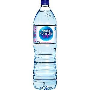 Eau de source Nestlé Pure Life, le paquet de 6 bouteilles de 1,5 l