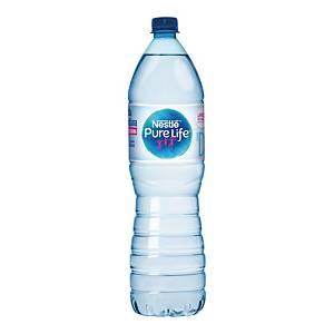 Woda źródlana NESTLÉ Pure Life niegazowana, zgrzewka 6 butelek x 1,5 l