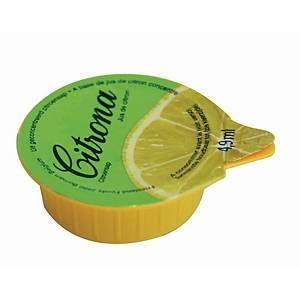 Jus de citron Citrona, la boîte de 120 dosettes