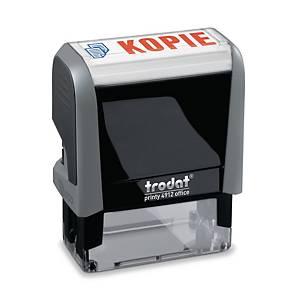 Tampon Trodat Office Printy 4912  Kopie , NL, bicolore