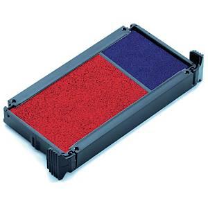 Stempelpude Trodat 6/4912, rød/blå, pakke a 2 stk.