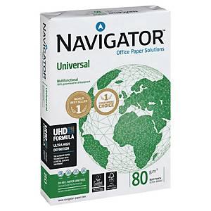 Papier pour photocopieur Navigator Universal A4, 80 g/m2, blanc, paq. 500flles