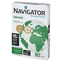 Navigator 領航 A4 多功能影印紙 80磅-每箱5捻 (每捻500張)