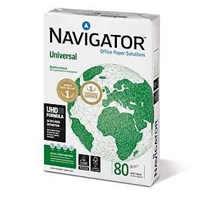 Kopierpapier Navigator Universal, A3, 80g, weiß, 500 Blatt