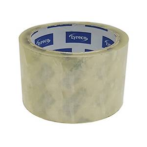 Lyreco 透明封箱膠紙 2.5吋 x 50碼