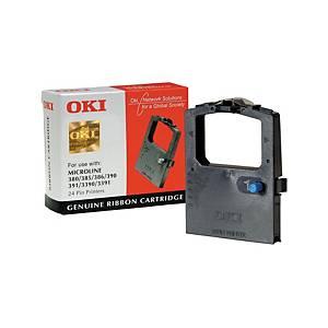 OKI festékszalag nyomtatókhoz ML390 (9002309) fekete