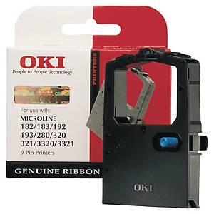 OKI ML182 original ribbon black