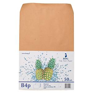 PK50 ENVELOPES B4 SELF-SEAL BRW