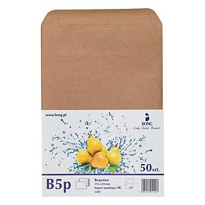 PK50 ENVELOPES B5 SELF-SEAL BRW