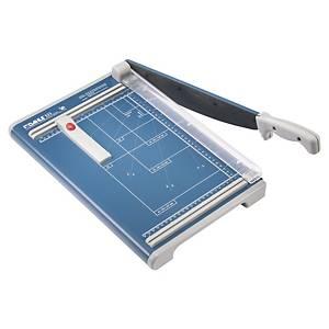 Cisaille à levier Dahle 533, A4, bleu