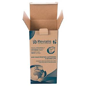 Inkjet cartridge recycling box