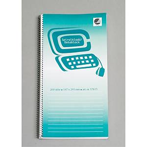 NOTE PAD/COMPUTER PAD 138 A SPIRAL 192P