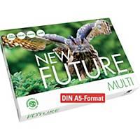 Kopierpapier New Future Multi, A5, 80g, weiß, 500 Blatt